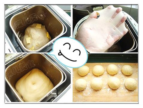 芝麻面包制作步骤5-8