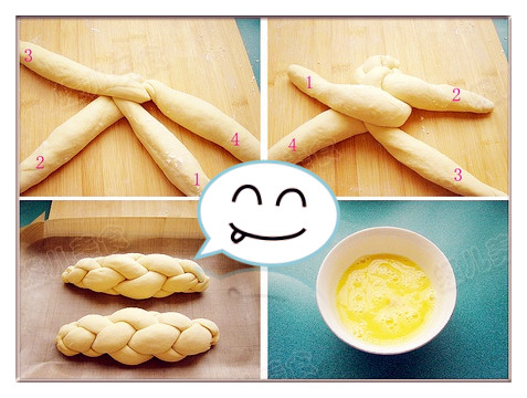 芝麻面包制作步骤13-16