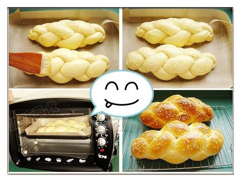 芝麻面包制作步骤17-20